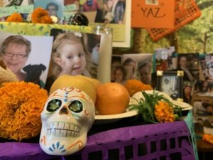 Virtual Día de los Muertos Ofrenda